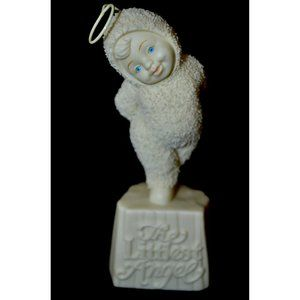 SNOWBABIES The Littlest Angel Dept 56 #69011 Angel